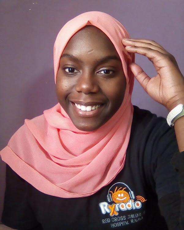 RX Radio young reporter Alaweyah Mogali.