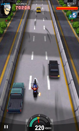 Racing Moto APK MOD screenshots 1