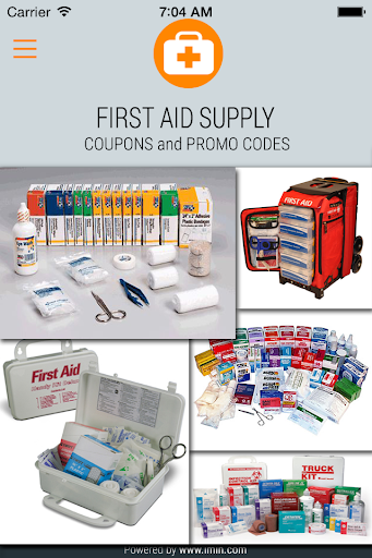 First Aid Supply Coupon Im In