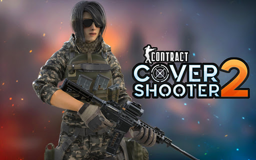 Code Triche Contract Cover Shooter 2020 - Pro Cover Fire Game APK MOD screenshots 4