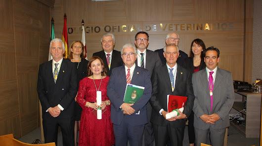 Acto de la Real Academia de Ciencias Veterinarias de Andalucía Oriental