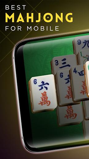 Mahjong Gold - Classic Majong Solitaire 3.1.9 screenshots 1