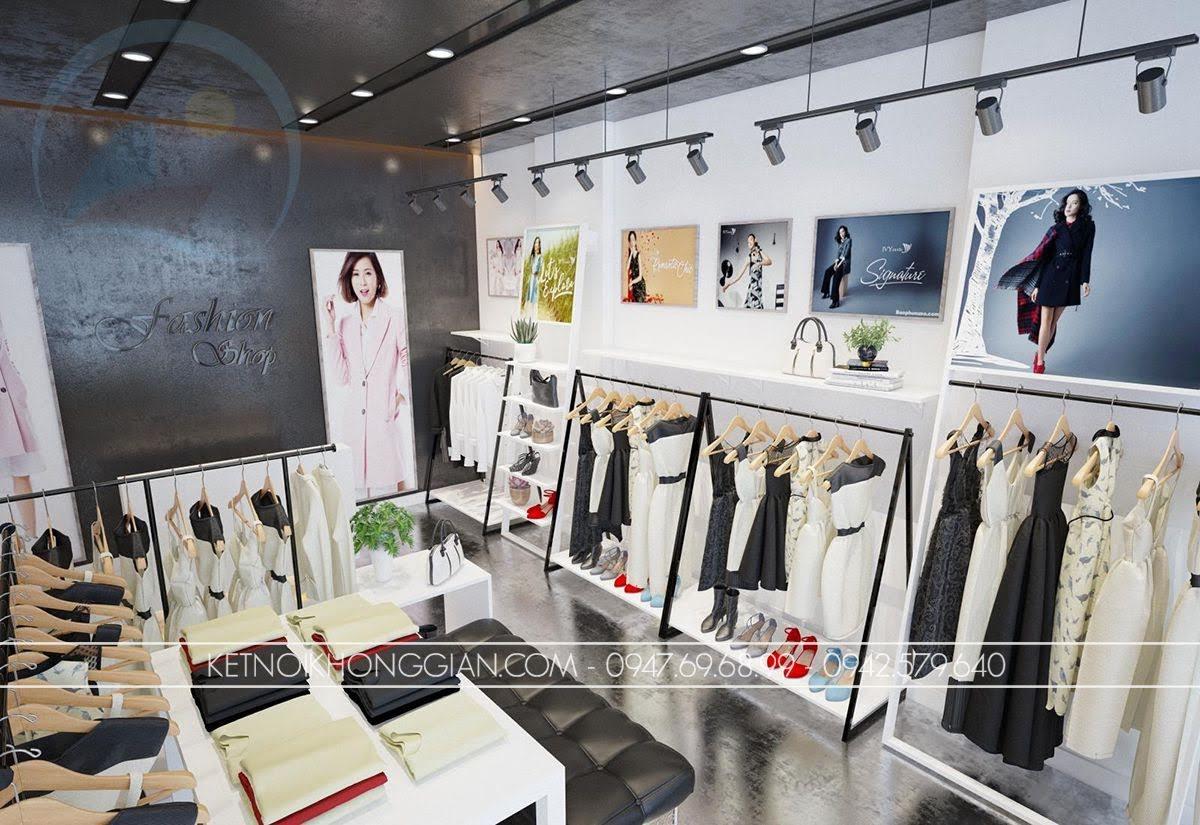 mẫu thiết kế shop thời trang giá rẻ số 1 - 3