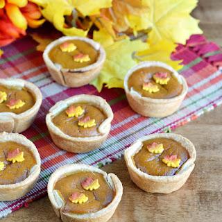 Mini Cupcake Pan Pumpkin Pies