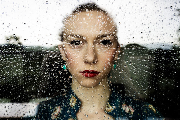 Raindrops portrait  di Sebastiano Pieri