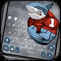 Macho Shark Keyboard Theme icon