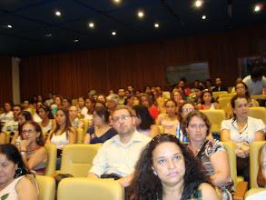 Photo: Todos ficaram muito atentos à palestra.
