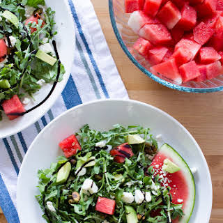 Watermelon & Arugula Salad.