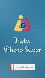Insta Photo Saver screenshot