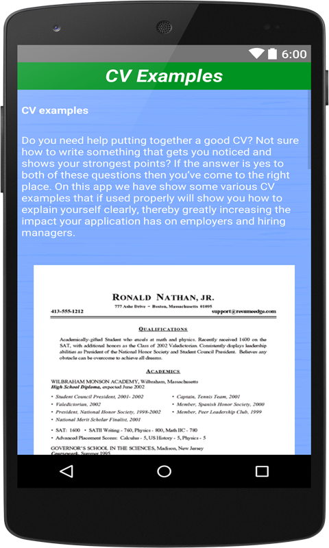 job cv maker portfolio maker screenshot - Cv Maker App