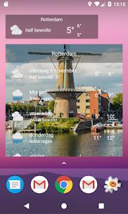 Rotterdam - Weer - náhled