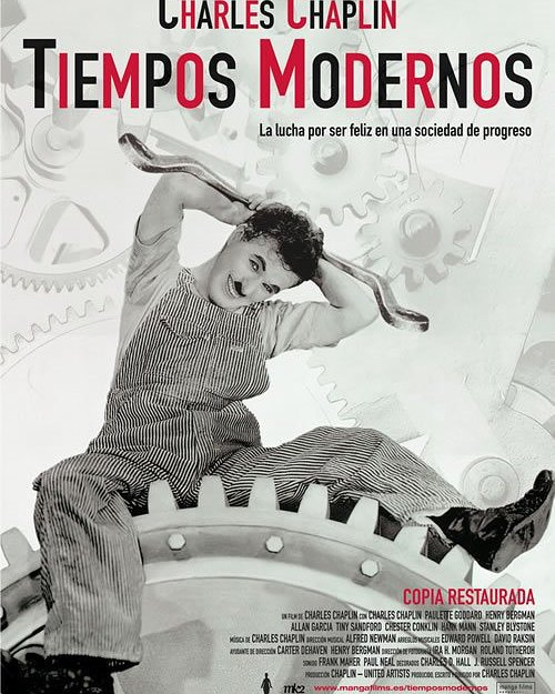 Tiempos modernos (1936, Charles Chaplin)