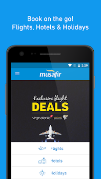 Musafir – Flights and Hotels