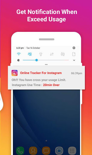 Foto do Online Tracker for Instagram : Usage Tracker