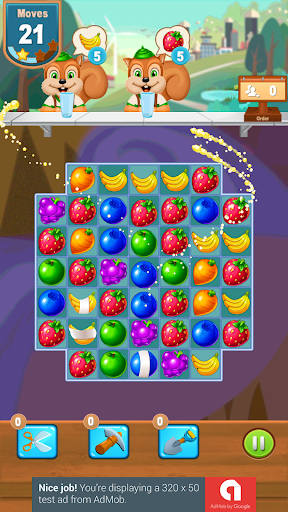 Juice Fun Fruits Match screenshot 1