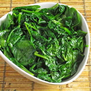 Garlicky Sautéed Spinach.
