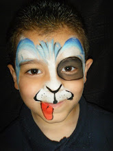 Photo: Puppy dog face paint by Heidi from La Verne.Book Heidi by calling 888-750-7024
