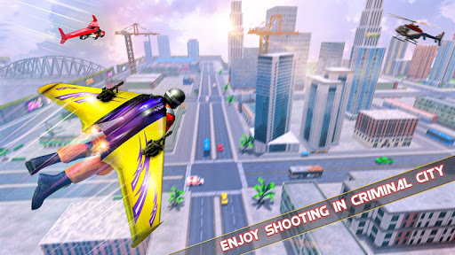 Flying Jetpack Hero Crime 3D Fighter Simulator 1.9 screenshots 4
