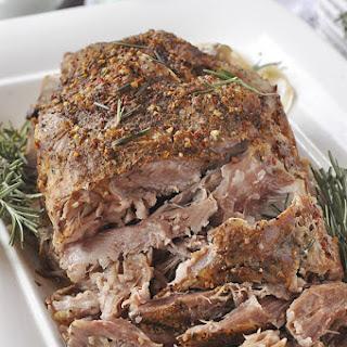 Crockpot Pork Roast }only 5 ingredients