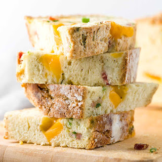 Cheddar and Bacon Irish Soda Bread Recipe