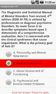 Social Work Clinical Exam Prep- screenshot thumbnail