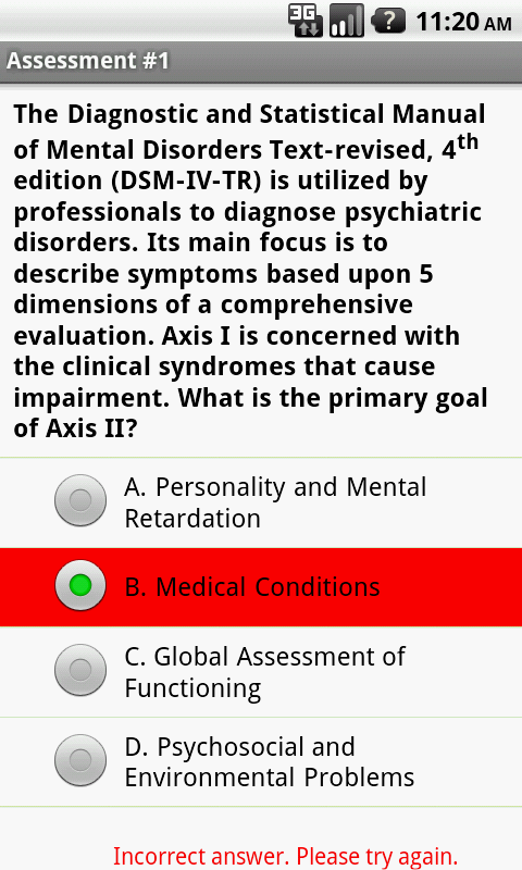 Social Work Clinical Exam Prep- screenshot