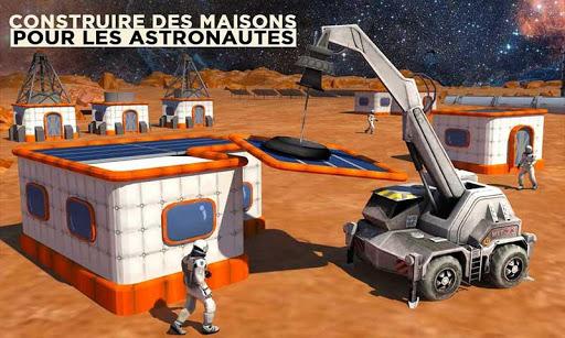 Code Triche Espace Ville Construction Simulateur Planète Mars mod apk screenshots 3