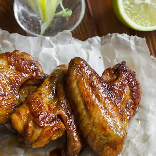 Rotisserie Tequila-Lime Chicken Wings