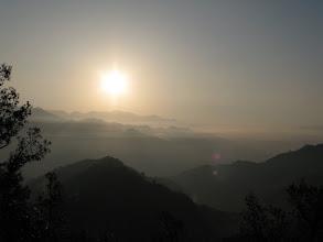 Photo: sunrise on the way to Uttarkashi