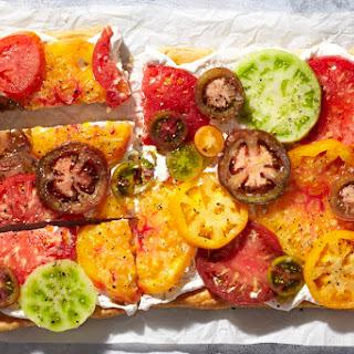 15-Minute Fresh Tomato and Feta Tart