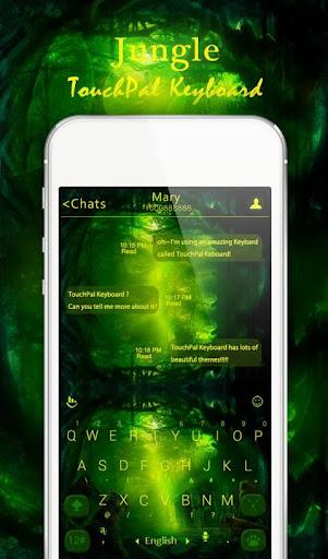 TouchPal Jungle Keyboard Theme