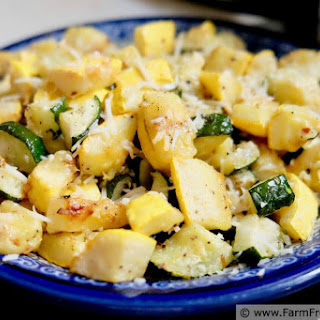 Roasted Zucchini and Yellow Squash Recipe