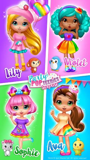 Party Popteenies Surprise - Rainbow Pop Fiesta 1.0.97 screenshots 1