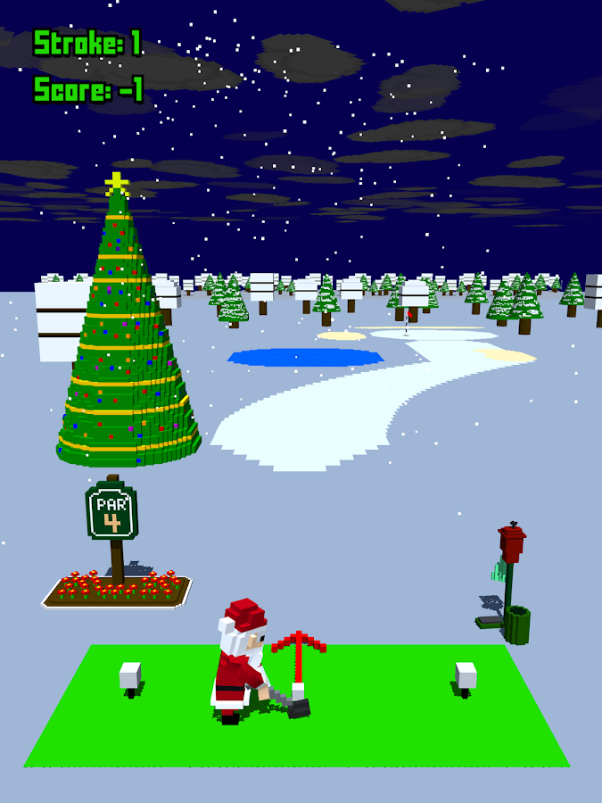 Tappy Golf- screenshot