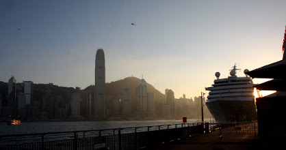 Photo: Day 195 -  Cruise Ship in Victoria Harbour
