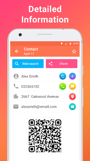 QR code reader - screenshot