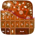 Brown Keyboard icon