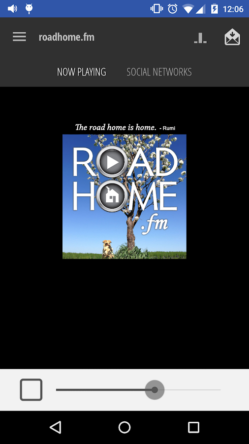 roadhome.fm- screenshot
