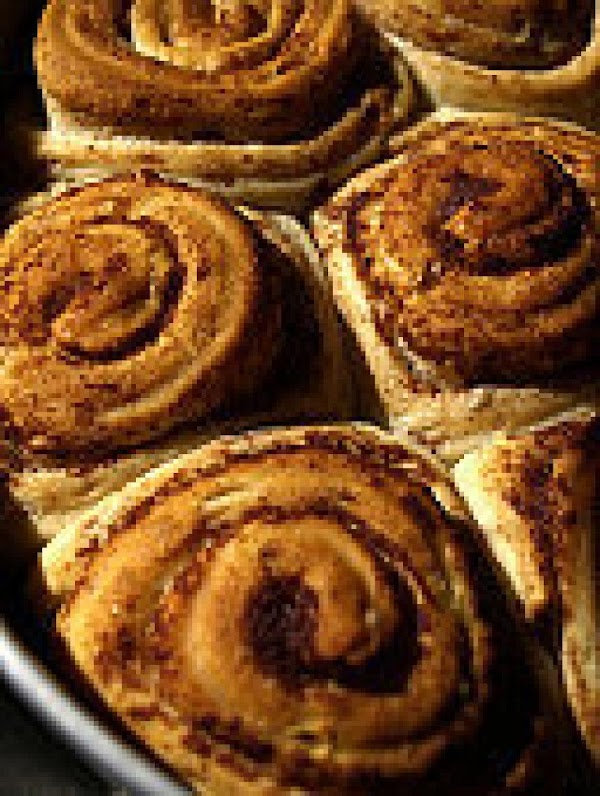Cinnamon Rolls:  Mum also made cinnamon rolls with this dough.  She always...