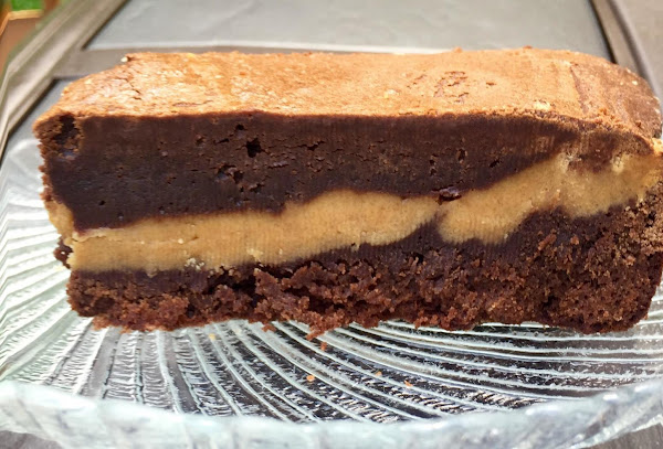 Peanut Butter Filled Brownies Recipe