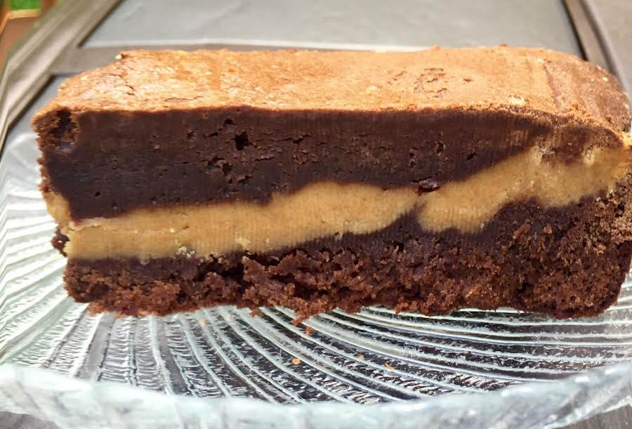 Peanut Butter Filled Brownies Recipe Just A Pinch Recipes