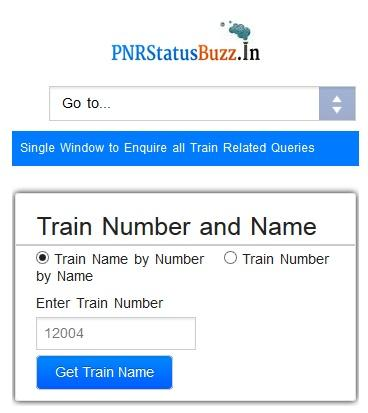 PNR Status Buzz- screenshot