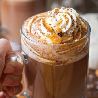 Salted Caramel Hot Cocoa.