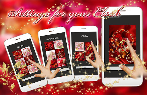 Roses Valentine Clock Live Wallpaper hack tool