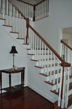 Photo: (Before) Cirelli's foyer stairs Perkasie, PA
