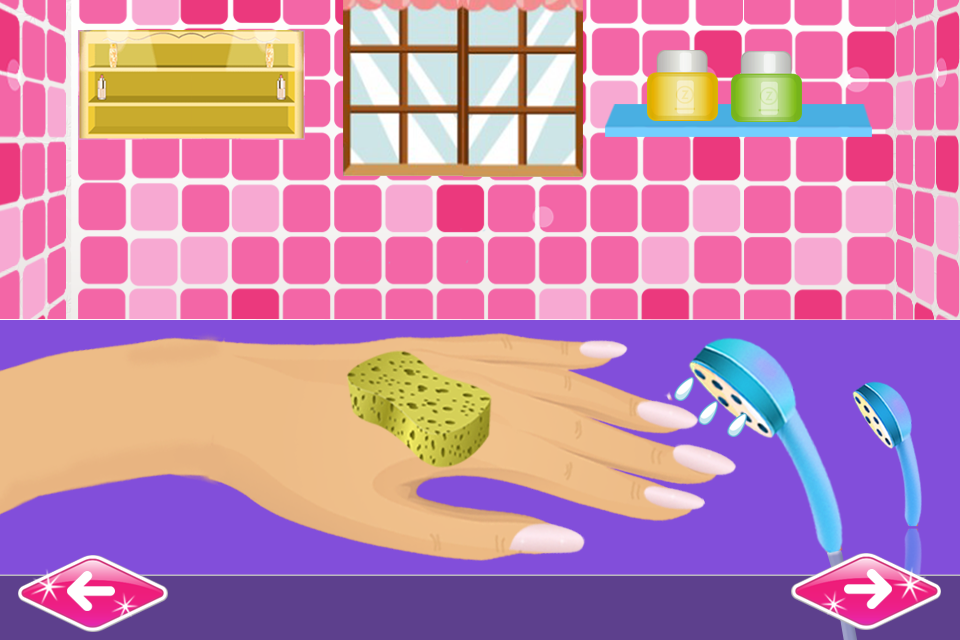 Nail art games for girls salon android apps on google play nail art games for girls salon screenshot prinsesfo Image collections