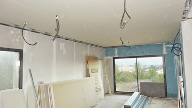 Photo: woonkamerplafond bijna dicht