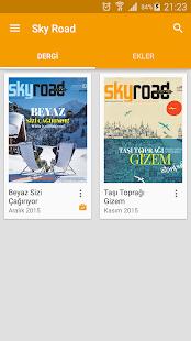 Sky Road - náhled