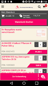 Brunnenapotheke Marburg screenshot 4