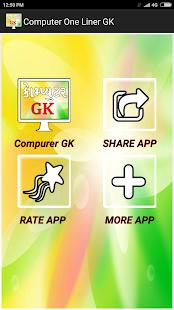 Computer GK One Liner - કોમ્પ્યુટર પરિચય ગુજરાતી - náhled